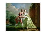 Robert Lovelace Preparing to Abduct Clarissa Harlowe, from 'Clarissa' by Samuel Richardson… Giclee Print by Francis Hayman