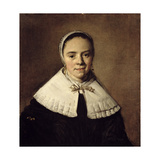Portrait of a Young Woman Giclee Print by Frans Hals