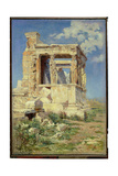 Portico with Caryatids, 1882 Giclee Print by Vasilij Dmitrievich Polenov
