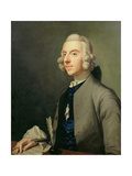 Portrait of Michael Arne (1740-86), C.1762-83 Giclee Print by Johann Zoffany