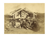 Kowitis Rununga House, Waioneo, Bay of Islands, C.1870 Giclee Print by Daniel Louis Mundy