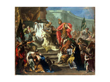 The Sacrifice of Jephthah's Daughter Giclée-tryk af Giovanni Battista Pittoni