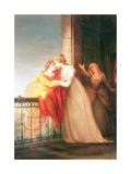 Romeo and Juliet Giclee Print by John Francis Rigaud