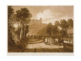 F.33.I St. Catherine's Hill Near Guildford, from the 'Liber Studiorum', Engraved by J.C. Easling,… Giclee Print by J. M. W. Turner