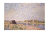 The Loing at Saint-Mammes, 1884 Giclee Print by Alfred Sisley