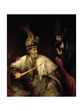 Ahasuerus and Haman Giclee Print by Aert de Gelder