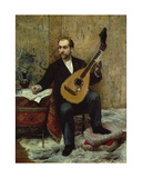 The Composer, 19th Century Giclee Print by P.G. Archainbaud