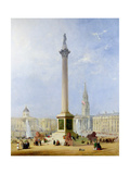 Projected View of Trafalgar Square, 1844 Giclee Print by George Henry Andrews