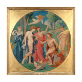 The Judgement of Paris Giclee Print by Jules Elie Delaunay