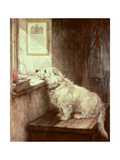 Will He Come Back Giclee Print by Robert Morley