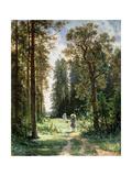 The Path Through the Woods, 1880 Reproduction procédé giclée par Ivan Ivanovitch Shishkin