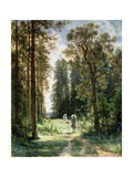 The Path Through the Woods, 1880 Giclee Print by Ivan Ivanovitch Shishkin