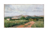 Provencal Landscape, 1869 Giclee Print by Paul Camille Guigou