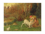 The White Hind, C.1870 Giclee Print by Arthur Hughes