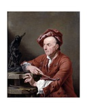 Louis Francois Roubillac, 1751 Giclee Print by Andrea Soldi