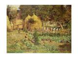 Jardin Potager Giclée-Druck von Isidor Verheyden