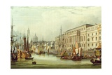 Custom House, E16, Engraved by R. G. Reeve, 1828 Giclee Print by Samuel Owen