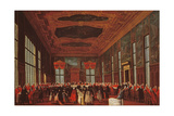 Public Banquet of the Doge Giclee Print by Gabriele Bella