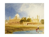 The Palace of the Hyder Ali Khan, Rajah of Mysore, C.1825 Giclee Print by John Sell Cotman