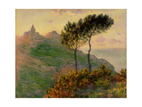 The Church at Varengeville, Against the Sunlight, 1882 Giclee Print by Claude Monet