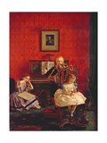 Music Hath Charms, 1861 Giclee Print by William Maw Egley