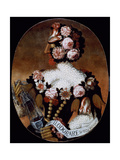The Sense of Smell Giclee Print by Giuseppe Arcimboldo