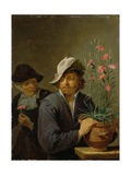 The Five Senses Series: Smell, C.1640 Giclee Print by David the Younger Teniers