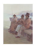 Old Sea Dogs, 1891 Giclee Print by William Holt Yates Titcomb