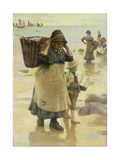 The Fish Fag Giclee Print by William Banks Fortescue