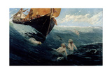 The Mermaid's Rock, 1894 Giclee Print by Edward Matthew Hale