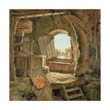 Rembrandt's Father's Mill, 1838 Giclee Print by Edward William Cooke