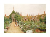 A Country Garden at Bray, Berkshire Giclee Print by Thomas Nicholson Tyndale