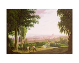 Rome Seen on a Grand Tour Giclee Print by John Feary