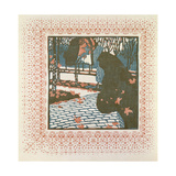 November Giclee Print by Kolo Moser