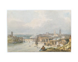 Newcastle on Tyne Giclee Print by Thomas Girtin