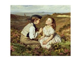 Touch and Go, to Laugh or No Giclee Print by Sophie Anderson