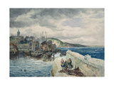 Pittenweem, Fife Giclee Print by Samuel Bough