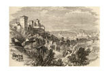 Granada and the Alhambra, Illustration from 'spanish Pictures' by the Rev. Samuel Manning Giclee Print by  English School