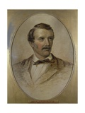 Portrait of David Livingstone (1813-73) Giclee Print by Charles Need