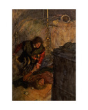 Romeo and Juliet, Act V Scene 4 Giclee Print by William Hatherell