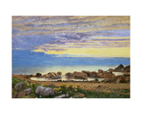 Dawn over the Sea Giclee Print by William Bell Scott
