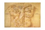 The Crucifixion, 1547 Giclée-Druck von Daniele Da Volterra