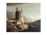 The Eagle Tower, Caernarvon Castle, 1802 Giclee Print by Benjamin Barker