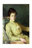 Portrait of a Young Woman Giclee Print by Charles Wellington Furse