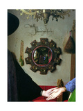 Arnolfini Marriage, Detail of Mirror, 1434 Giclee Print by  Jan van Eyck