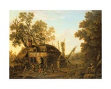 Hop-Picking, C.1760 Giclee Print by George, of Chichester Smith