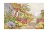 A Country Cottage Giclee Print by Sydney Currie