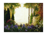 The Garden of Romance Gicléetryck av Thomas Edwin Mostyn