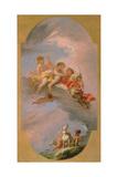 Venus and Adonis Giclée-tryk af Sebastiano Ricci
