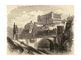 Toledo, Spain, Illustration from 'spanish Pictures' by the Rev. Samuel Manning Giclee Print